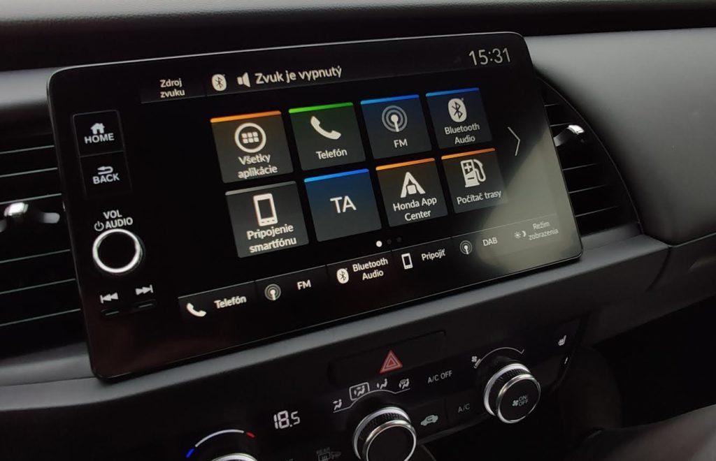 honda jazz Android auto