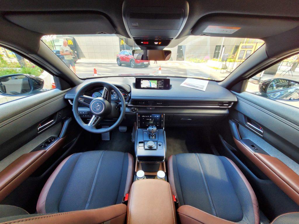 mazda mx-30 bev elektrická elektromobil