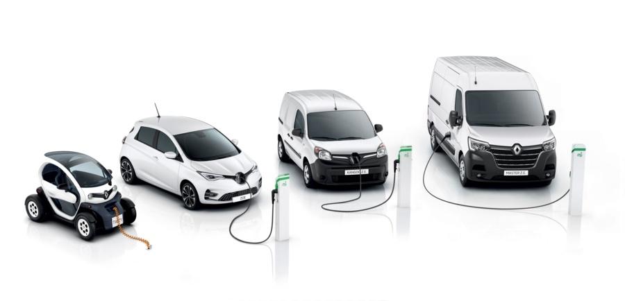 Renault predaj elektromobilov