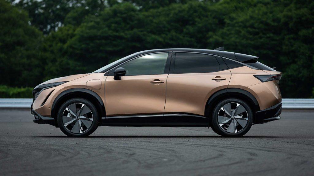 Nissan mení CHAdeMO nissan Ariya