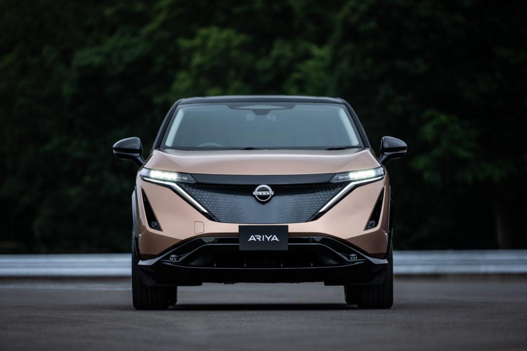 Nissan Ariya exteriér