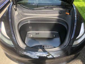 Model 3 predný kufor frunk 2018