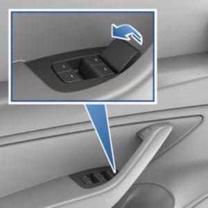 Tesla Model 3 Y tlačidlo kľučka dvere