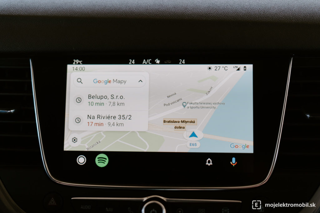android auto plug-in hybrid