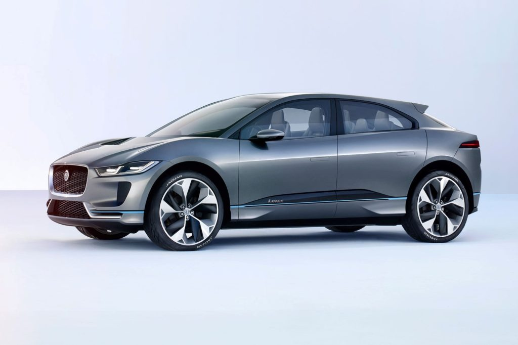 i-pace jaguar bev salón elektromobilov košice 2020