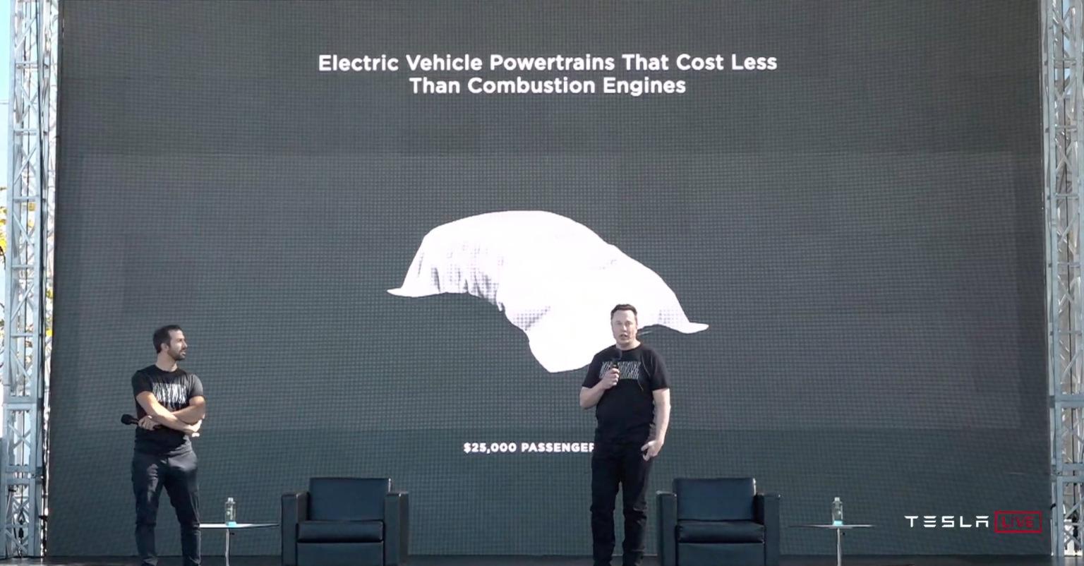 Tesla elektromobil za 25 000 dolárov