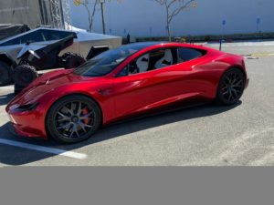 Battery Day: Tesla Roadster (Foto: Marco Carini/Electrek)