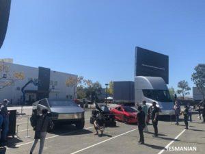 Battery Day: Tesla Cybetruck, štvorkolka, Roadster, Semi (Foto: Marco Carini/Electrek)