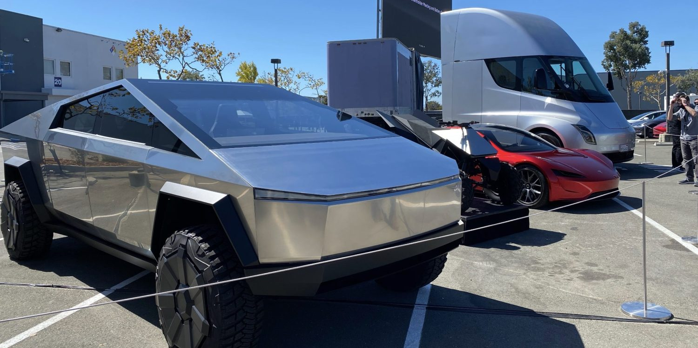 Battery Day: Tesla Cybertruck, ATV, Roadster, Semi