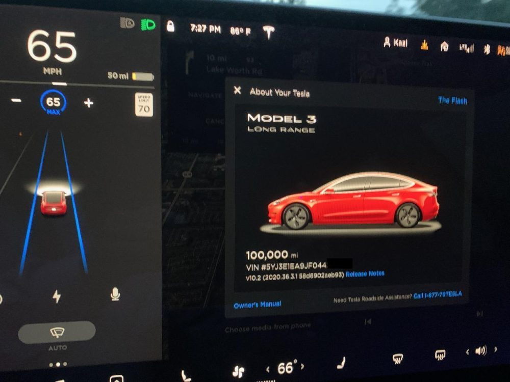Tesla Model 3 Long Range (Foto: Electrek)