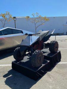 Battery Day: Tesla Cyberquad/ATV/štvorkolka (Foto: Marco Carini/Electrek)