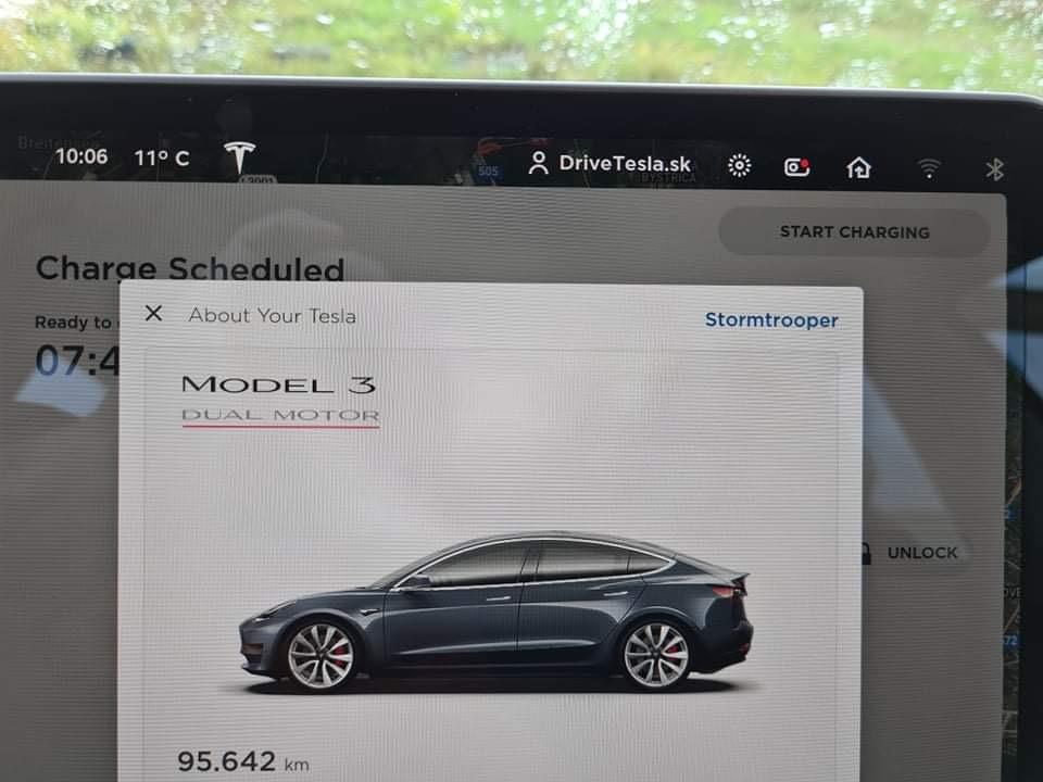 Prvá Tesla Model 3 na Slovensku s vyše 95-tisíc kilometrami (Foto: Jaroslav Kapšo/DriveTesla.sk