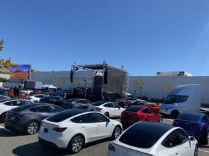 2020 Tesla stretnutie akcionárov a Battery Day (Foto: Marco Carini/Electrek)