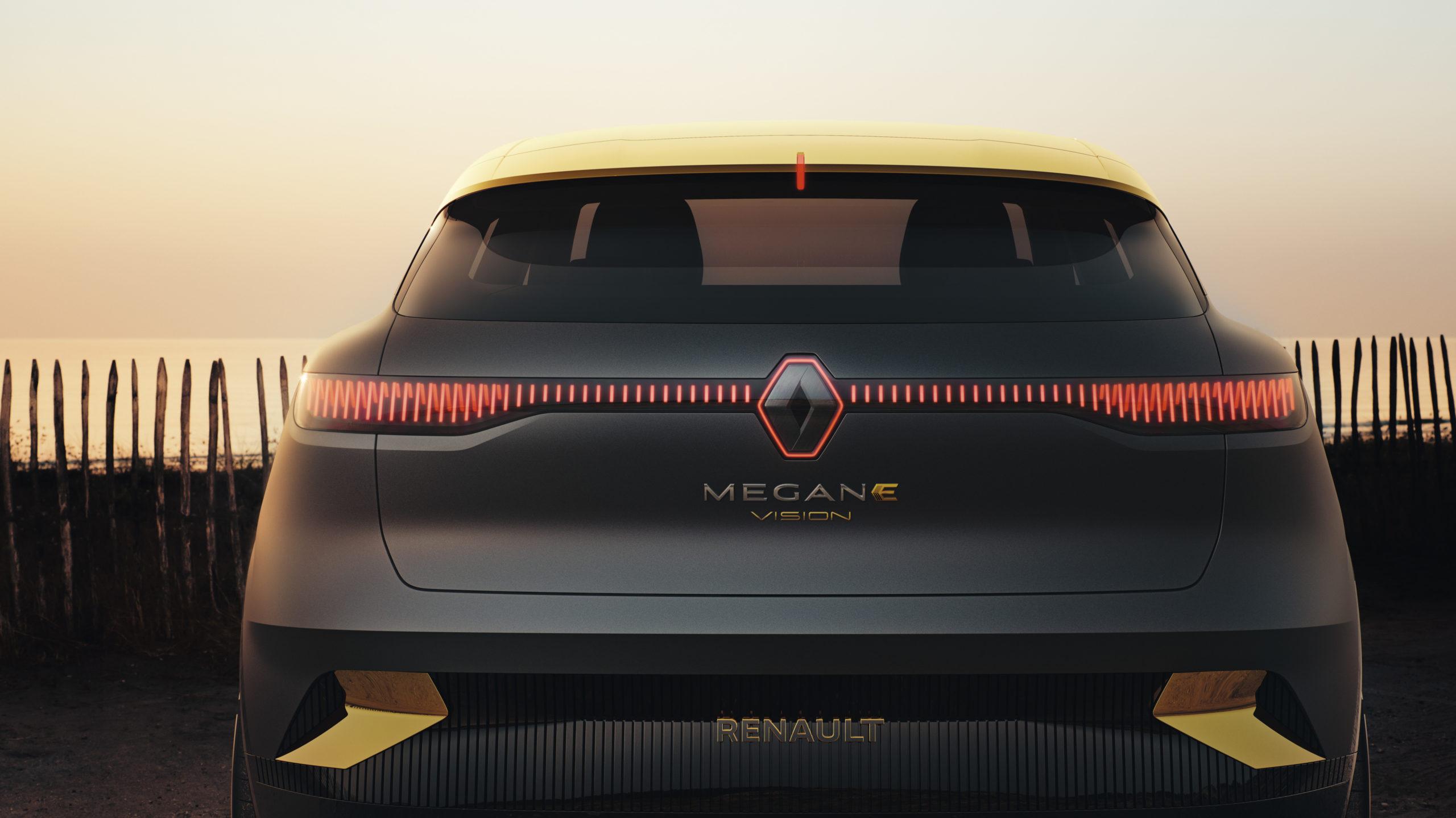 Prototyp Renault Mégaen eVision (Foto: Renault)