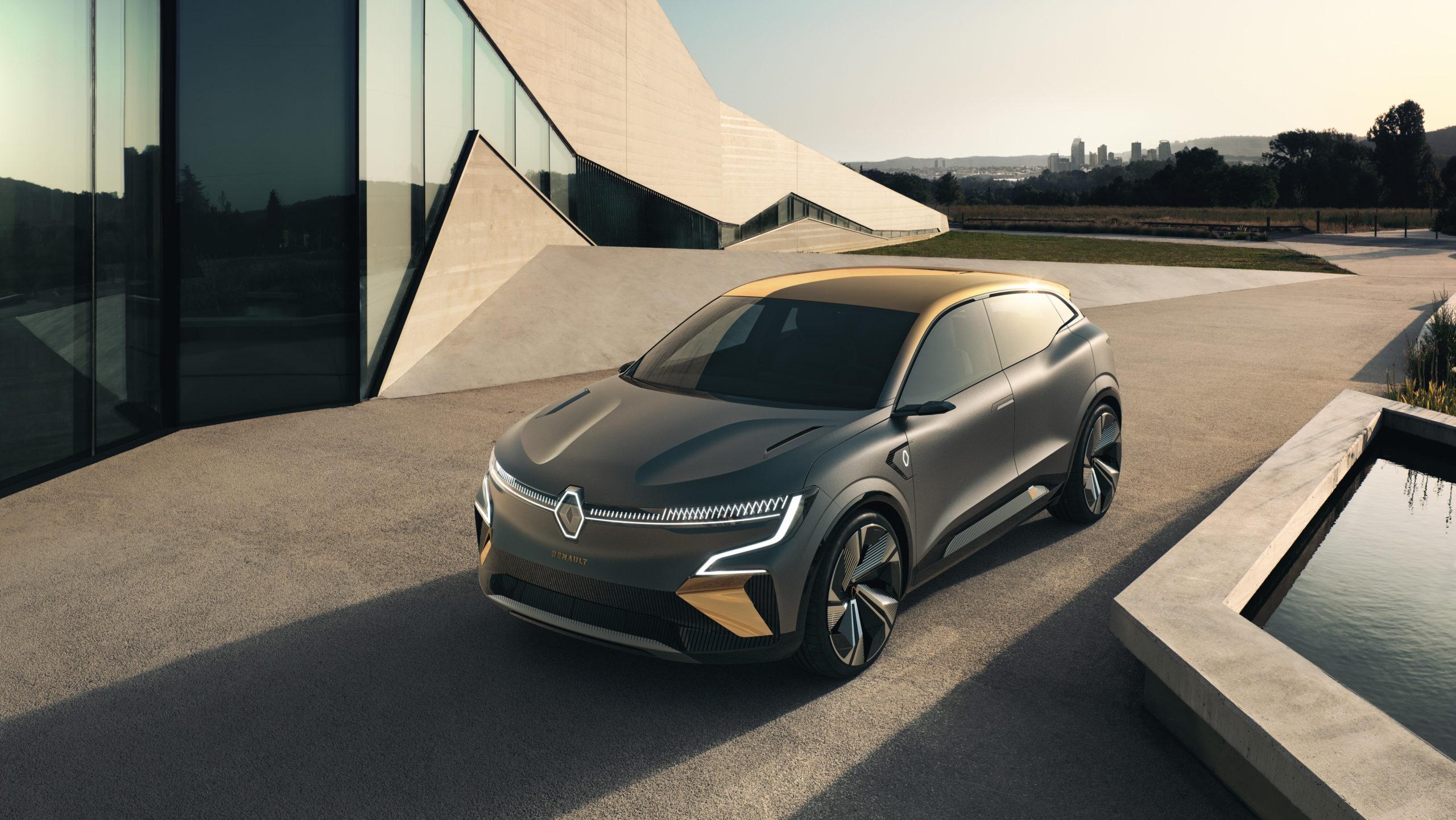 Protoyp Renault Mégaen eVision (Foto: Renault)