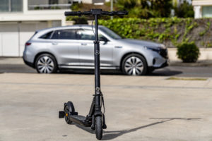 mercedes-benz escooter elektrická kolobežka
