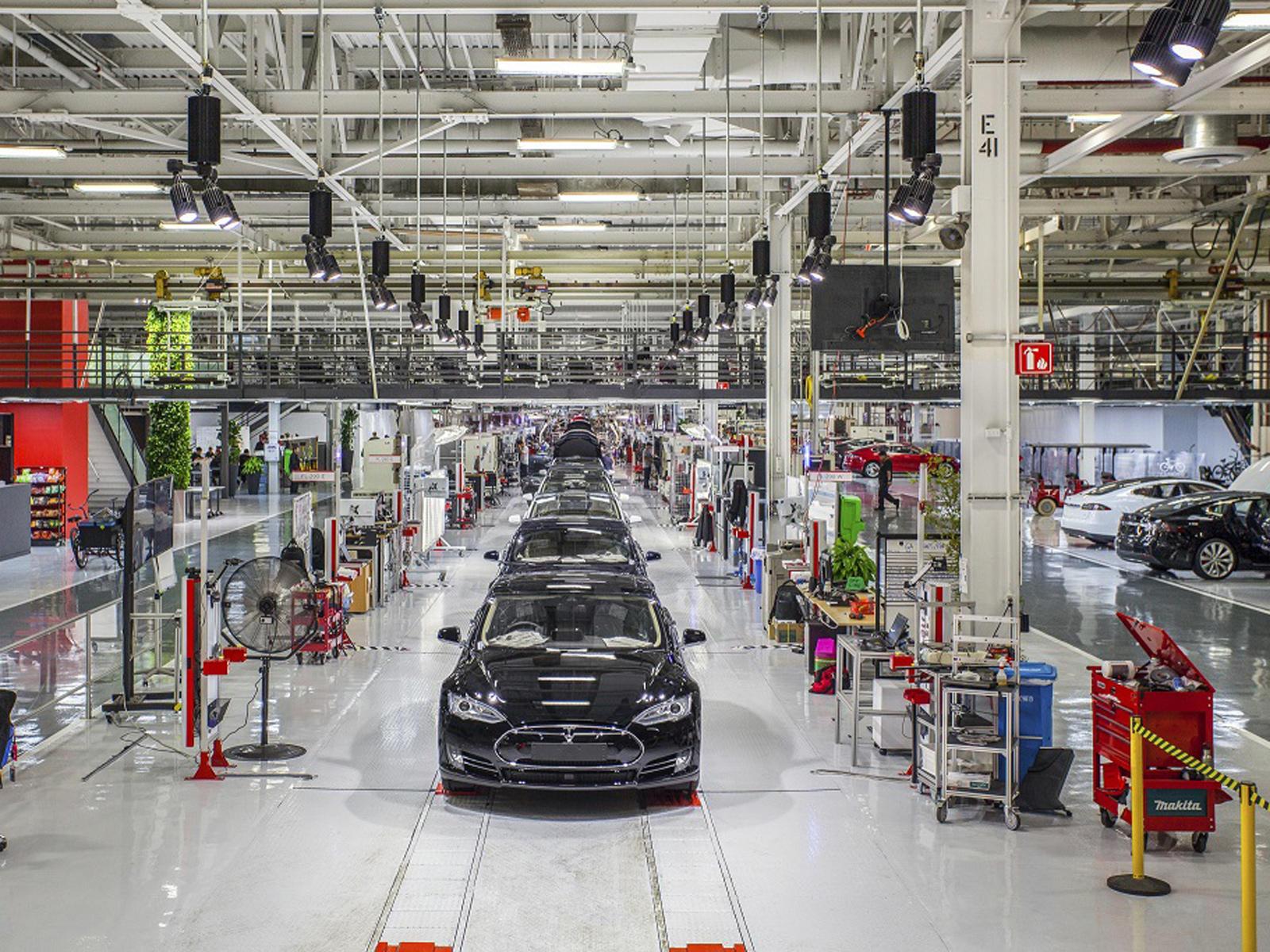 Fabrika Tesla Fremont (Foto: Pinterest)