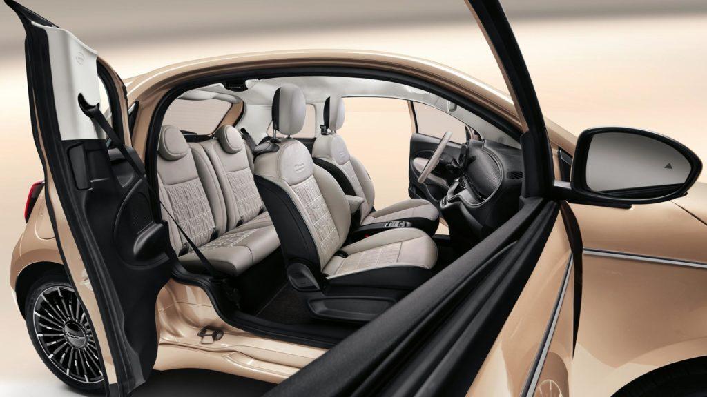 Fiat 500e 3+1 (Foto: Fiat)
