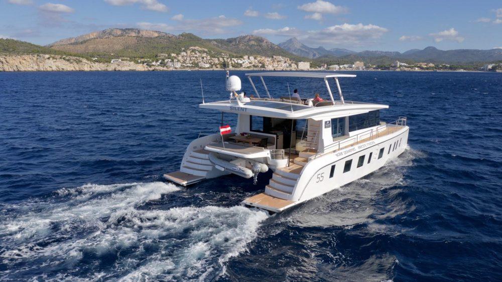 Elektrická jachta/katamarán Silent Yachts - model Silent 55 (Zdroj: Silent Yachts)