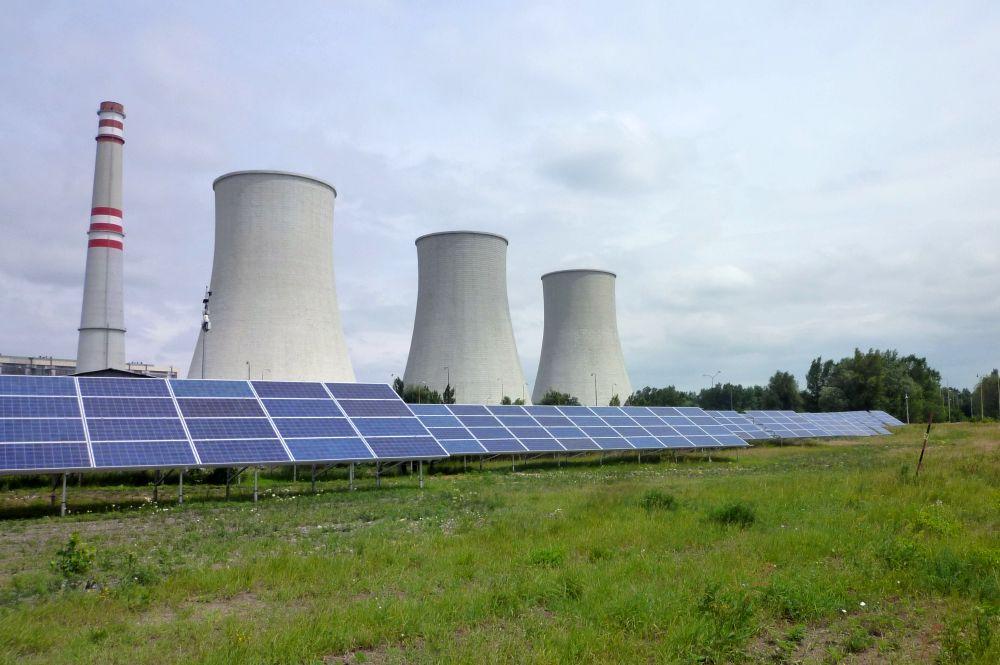 Fotovoltická elektráreň na Slovensku - FVE Vojany (Zdroj: strabag-pozemne.com)