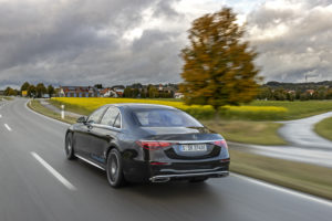 Mercedes-Benz S plug-in hybrid phev dc