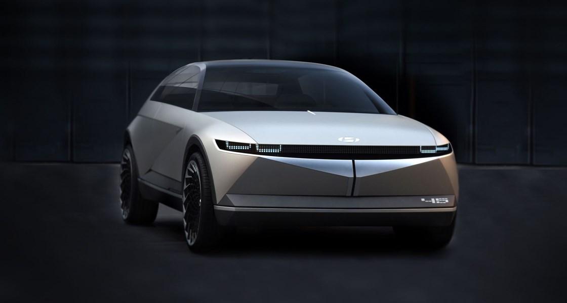 Elektrický hatchback Hyundai Ioniq 5 - exteriér (Zdroj: Hyundai Austria)