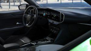 Slovenské ceny Opel Mokka-e - interiér (Zdroj: Opel)
