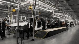 lucid fabrika továreň arizona