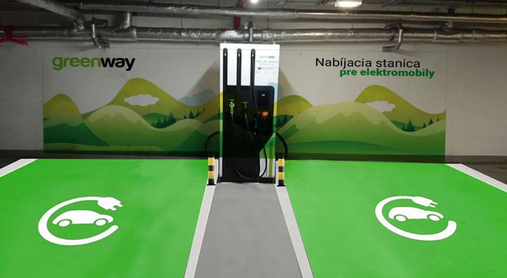 greenway nabíjacia infraštruktúra na slovensku