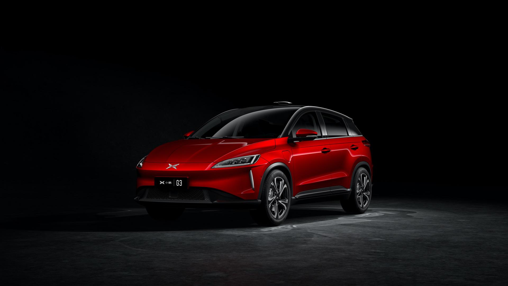 Čínske elektromobily - Xpeng G3 (Foto: Xpeng)