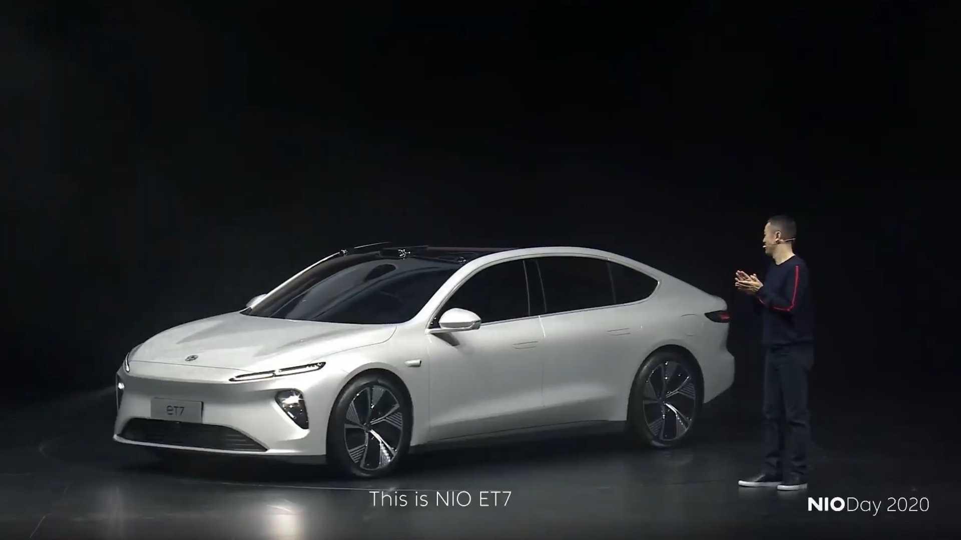 Čínske elektromobily - ET7 (Foto: NIO)