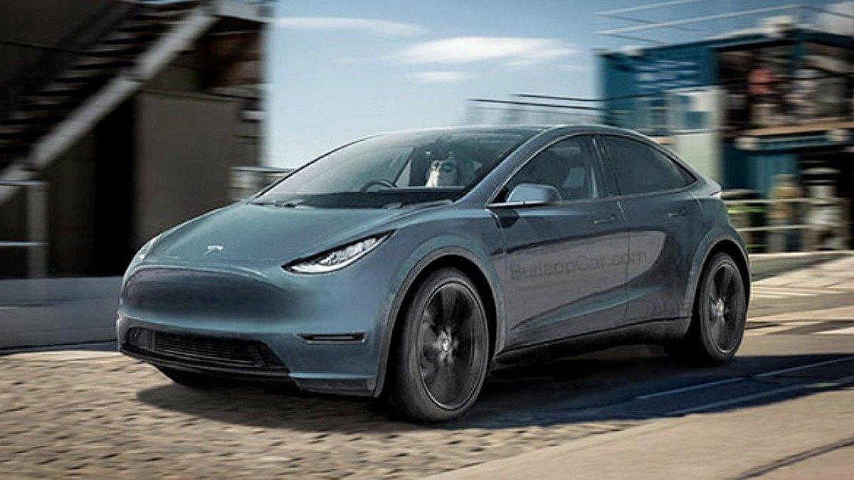 Neoficiálna vizualizácia nového najlacnejšieho elektromobilu Tesla - Tesla Model 2 (Foto: Vince Burlapp)