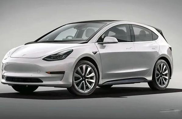 Neoficiálna vizualizácia nového najlacnejšieho elektromobilu Tesla - Tesla Model 2
