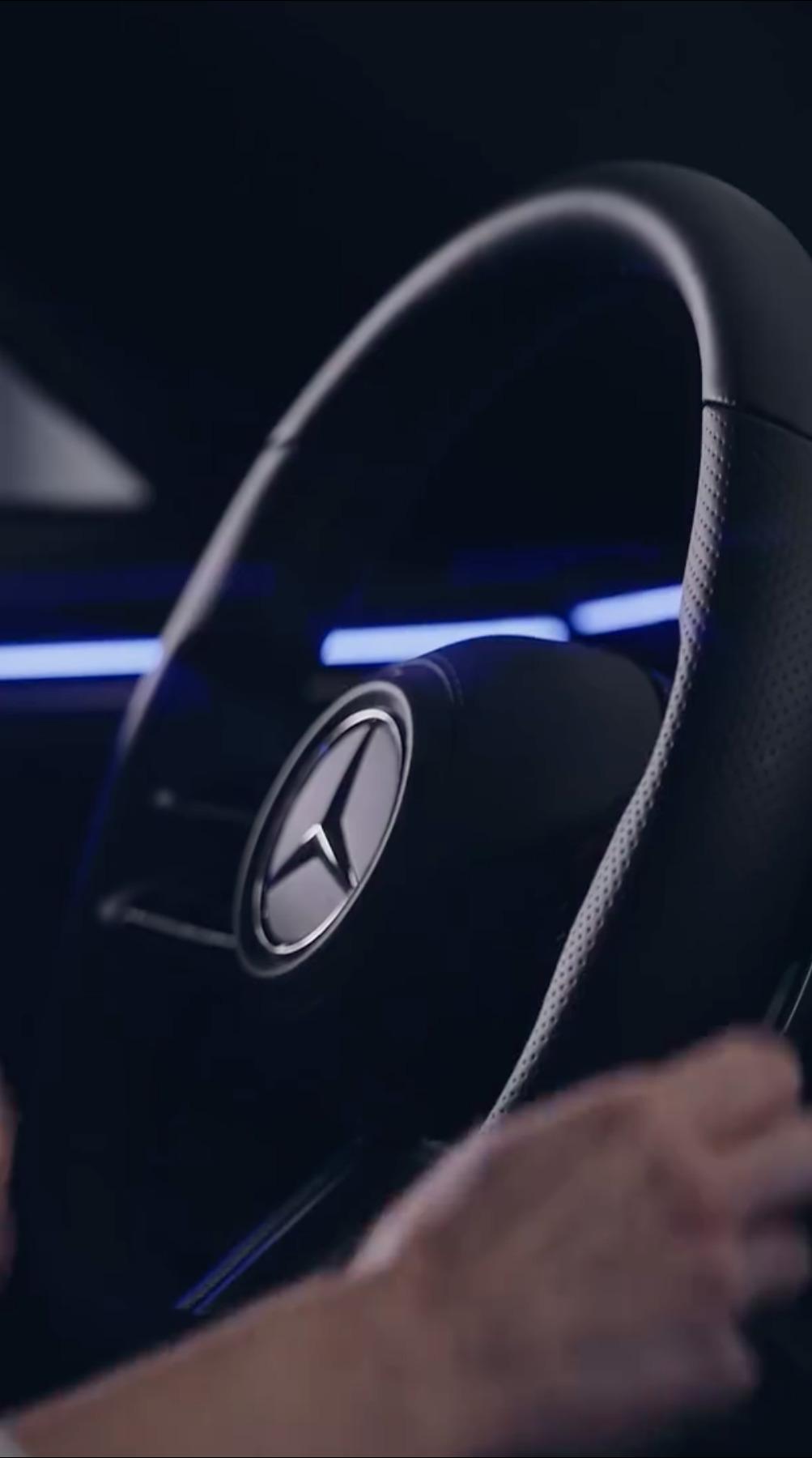 Mercedes-Benz EQS Hyperscreen