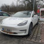 Pokus o svetový rekord v elektromobilite - Tesla Model 3 (Foto: Teslicka.cz)