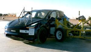 Tesla Model Y Crash test