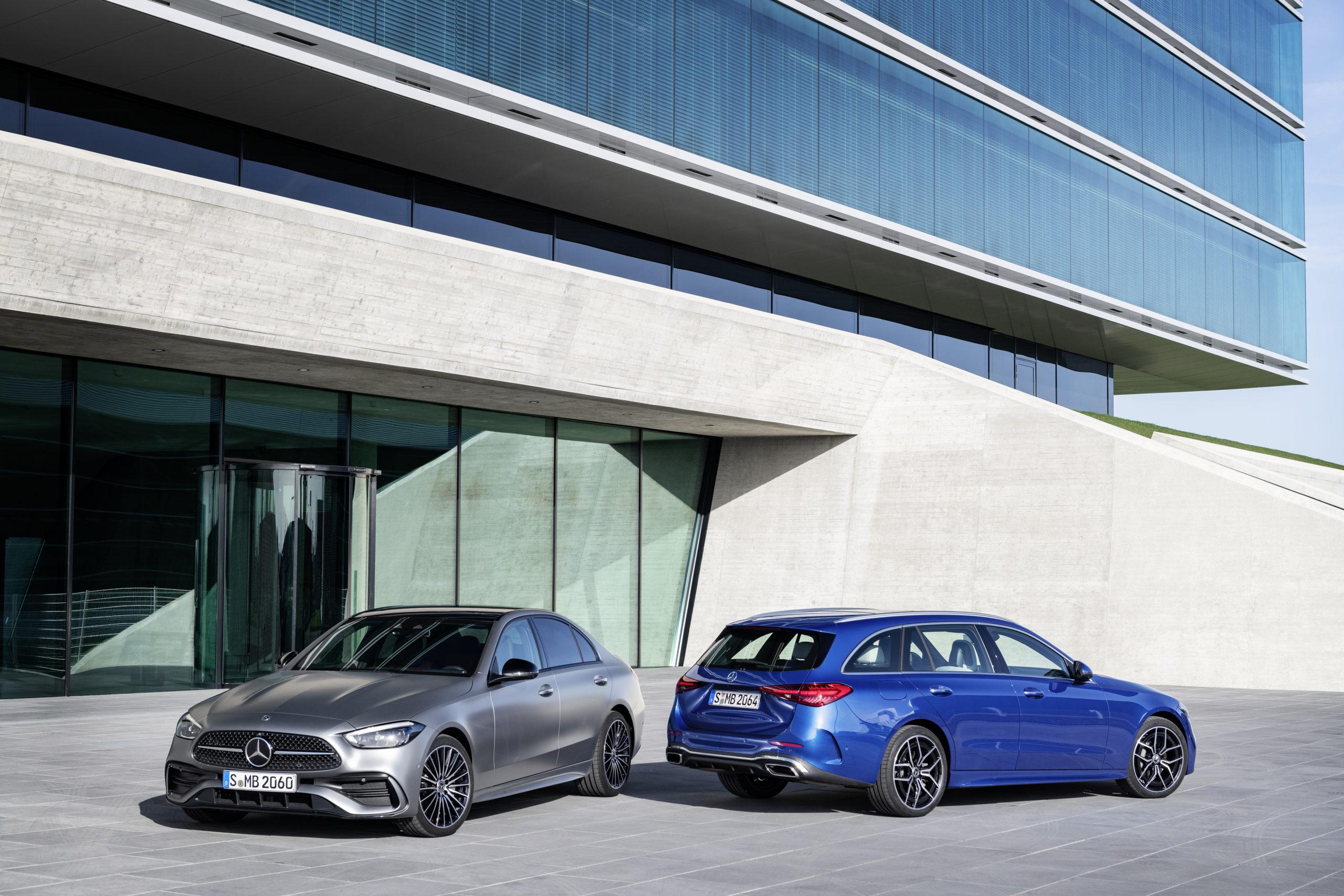 2021 Mercedes-Benz Triedy C plug-in hybrid