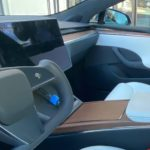 Facelift Tesla Model S yoke volant