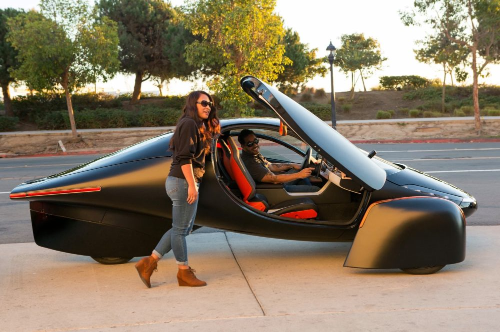 Solárny elektromobil Aptera (Zdroj: Aptera)