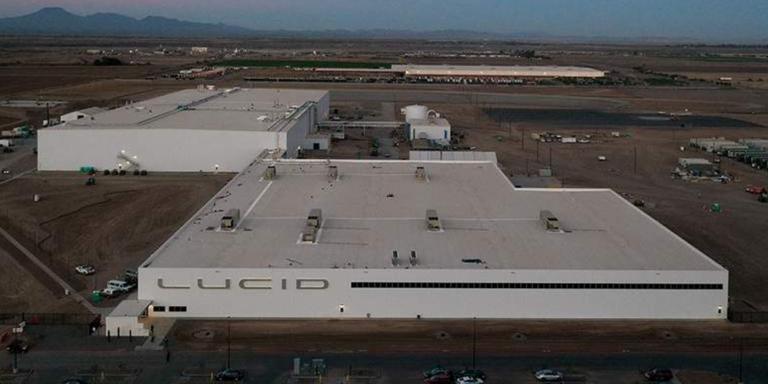 Výrobná fabrika AMP-1 firmy Lucid Motors v Arizone (Foto: Lucid Motors)