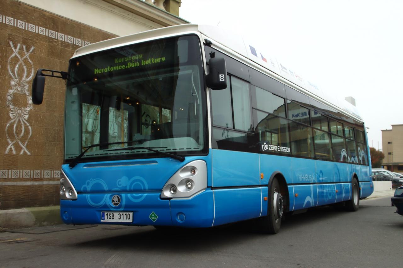 Vodíková stratégia Košický kraj - Český vodíkový autobus TriHyBus (Zdroj: Škoda)