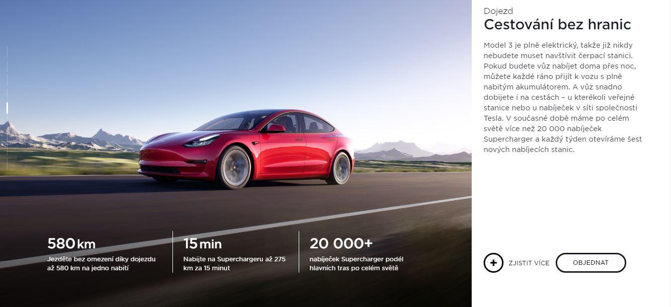 Tesla Model 3 nabíjanie (Foto: Tesla)