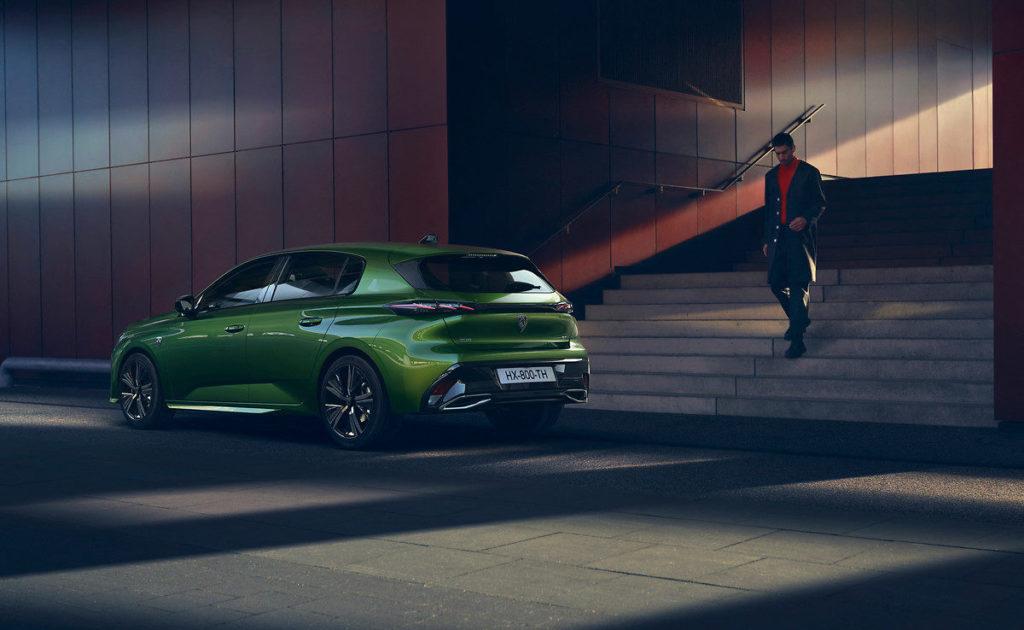 Peugeot 308 phev plug-in hybrid