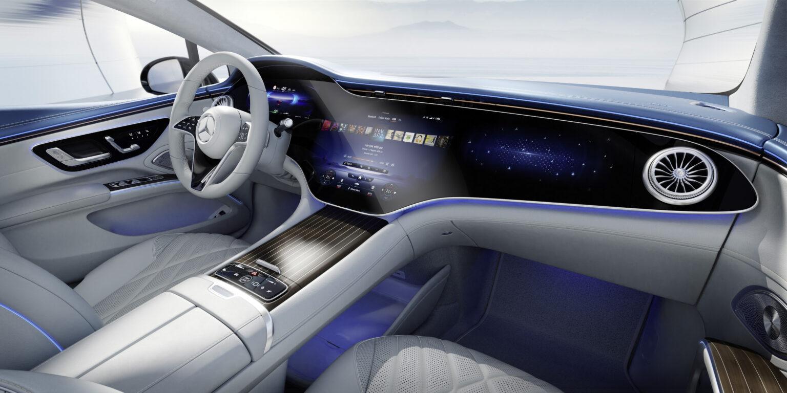 Mercedes EQS (Foto: Mercedes-Benz)