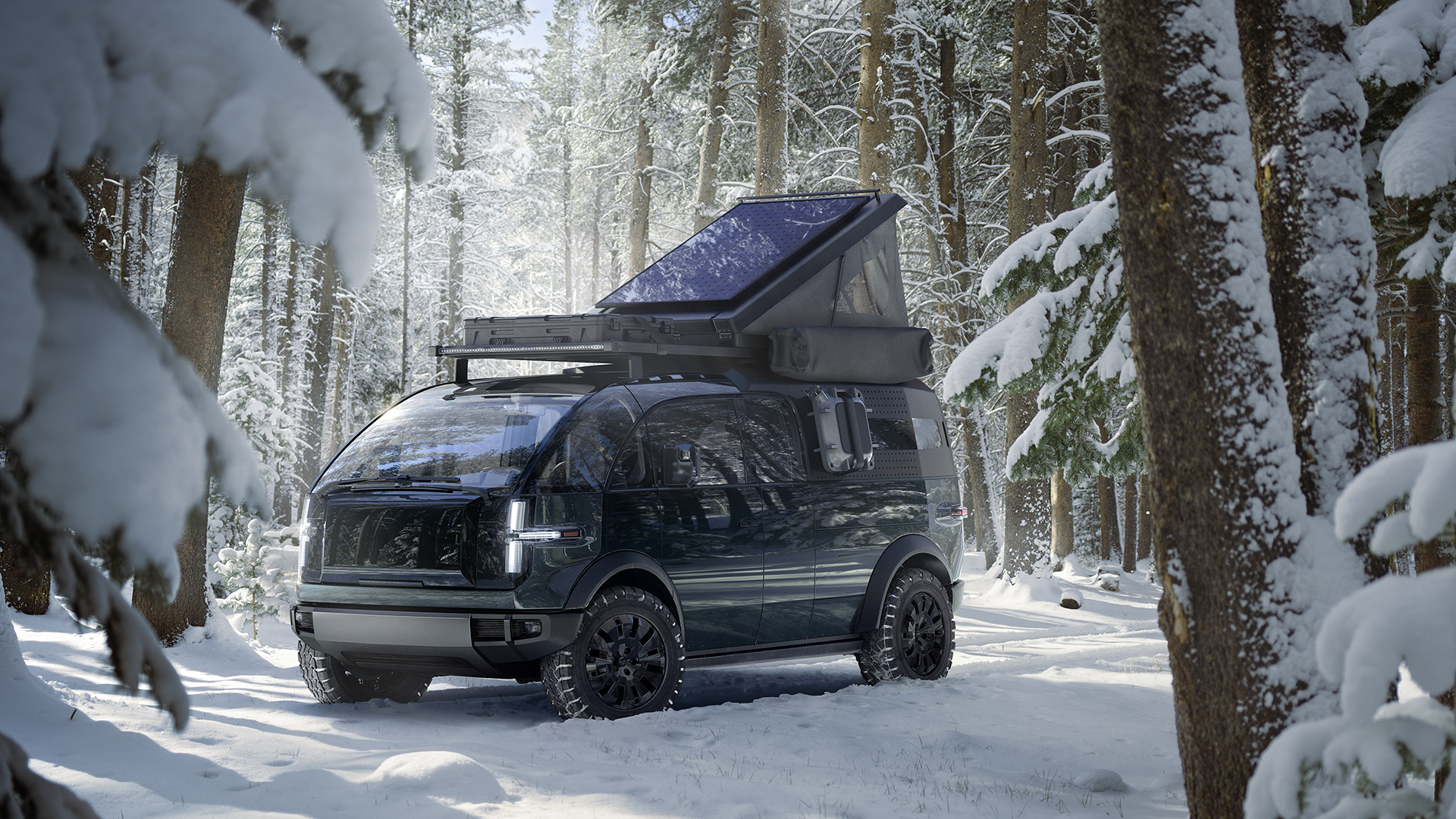 Elektrický pickup Canoo (Zdroj: Canoo)