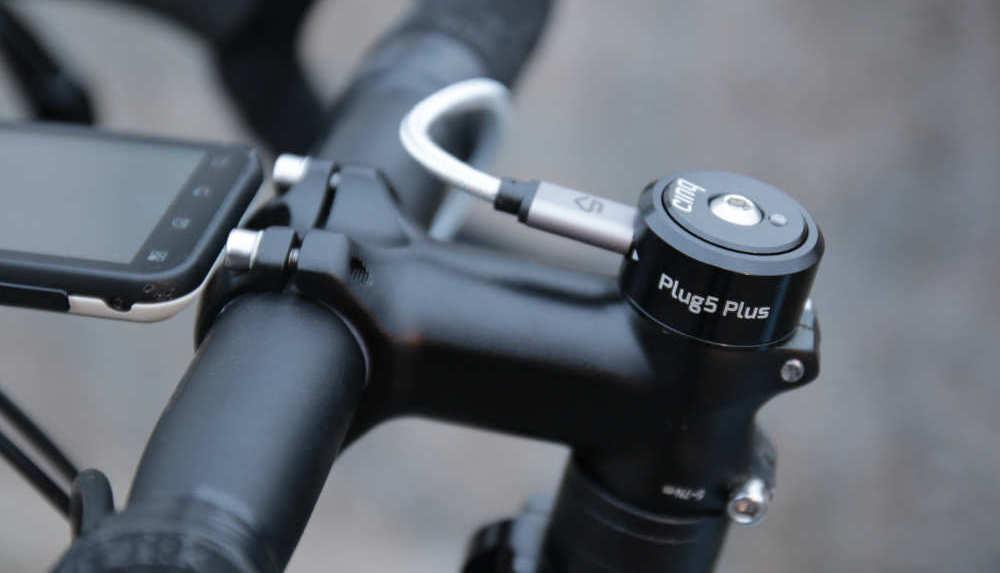 E-bike Cinq Plus5 s USB-C nabíjacím portom (Foto: Cyclingabout.com!