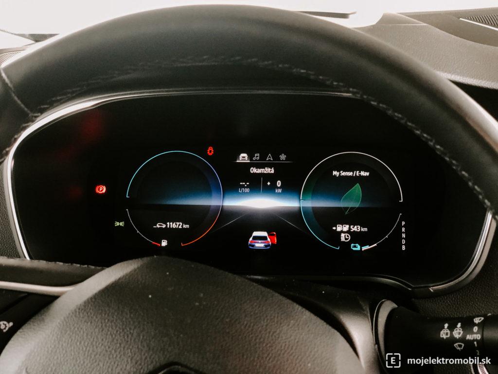 Renault Megane plug-in hybrid PHEV TEST