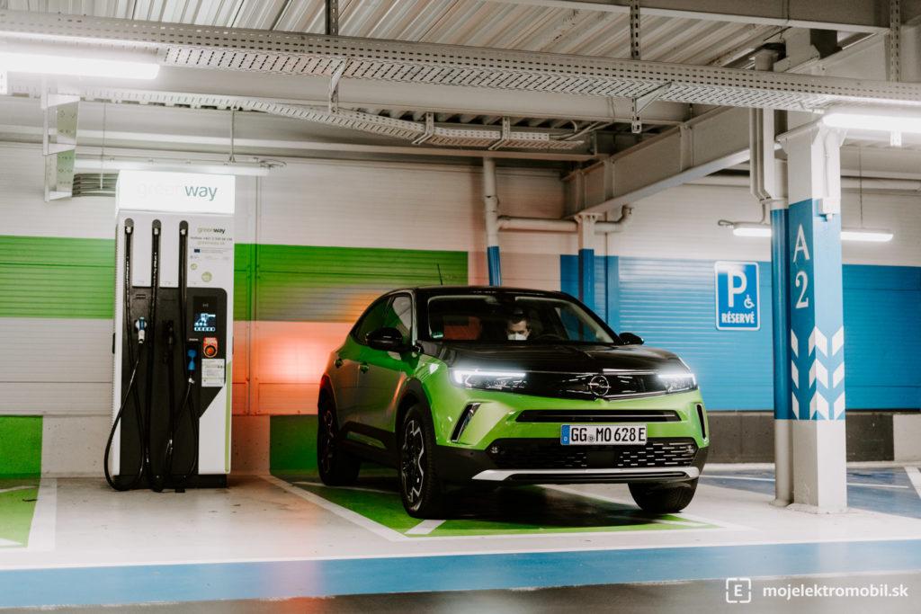 Opel Mokka-e elektromobil prvá jazda