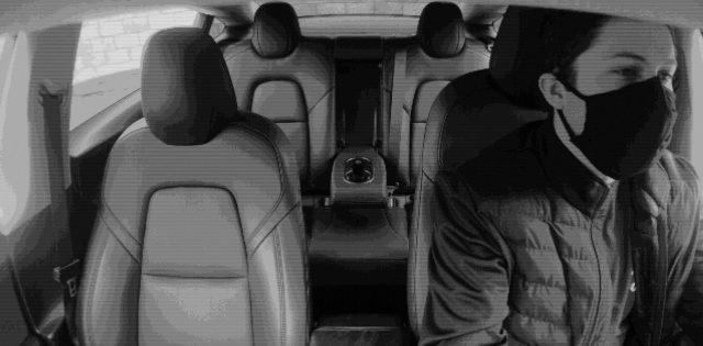 Systém autonómnej jazdy - zorné pole interiérovej kamery (Foto: Teslarati)