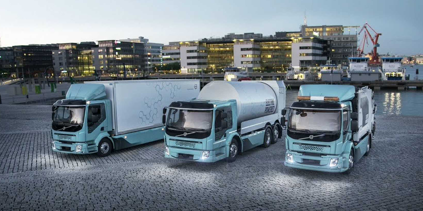 Elektricé nákladné vozidlá Volvo FE Electric (Foto: Volvo Trucks)